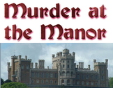 Game: Murder at the Manor (mystery party activity)