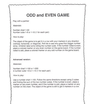 Game- ODD and EVEN Game