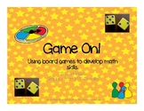 Game On, Addition and Subtraction Fact Fluency for K, 1st