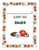 Game On- Student Organizational Binder Cover