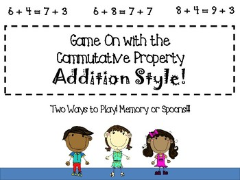 Game On with Commutative Property: Addition Style!