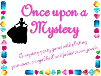 Game: Once upon a Mystery party game
