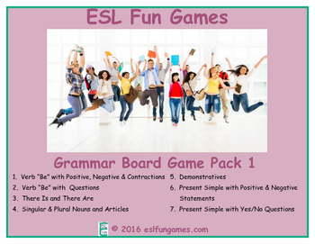 Grammar Board Games Pack 1 Game Bundle