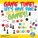 Game Pieces Clip Art