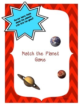 {Game} Planet Match Game