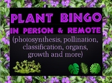 Game: Plant bingo (50 unique cards & clues)