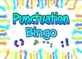 Game: Punctuation Bingo (30 cards, 60+ clues)