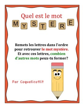 Game: Quel est le mot mystère?