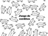 Reflexive Verbs Games - Cerdos Cerditos - Los verbos refle