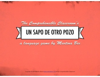 Game: Sapo de otro pozo (Odd One Out)