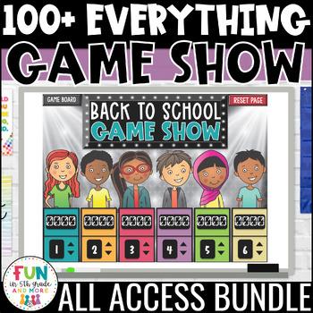Game Show ALL ACCESS Bundle | Math & ELA Test Prep Review Activities