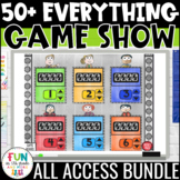 Game Show ALL ACCESS Bundle | Math & ELA Test Prep Review Games