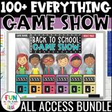 Game Show ALL ACCESS Bundle | Math & ELA Test Prep Review Games