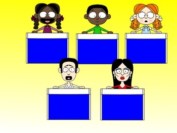 Game Show Contestant Clip Art Collection