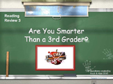 SOL Game Show Reading Review 3 - 3rd Grade