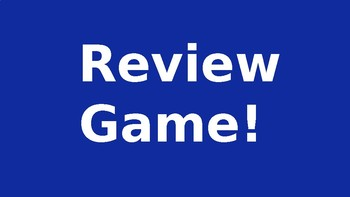 Game Show Review Game
