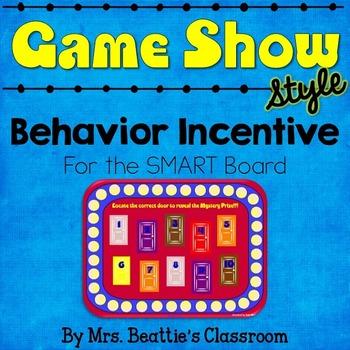 Behavior Management Incentive for the SMART Board