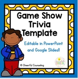 Game Show Trivia Template for Classroom and Distance Learning!