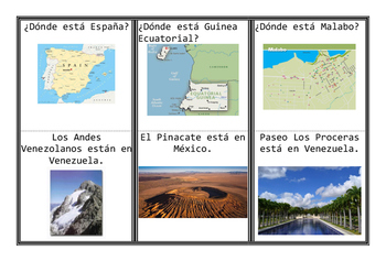 Game Spanish Speaking Countries