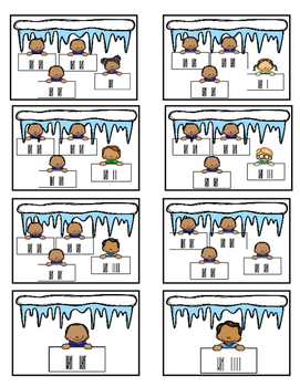 Game - Tally Marks (Winter Theme)