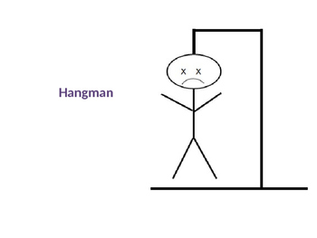 game template hangman by be bilingual teachers pay teachers