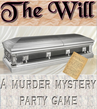 Game: The Will Murder Mystery activity/script & lesson plans