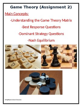 Game Theory - Assignment 2 w/ Answer Key