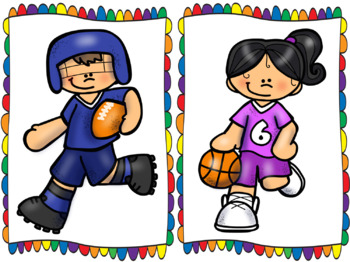 Game Time!: Sports Themed Super Centers