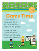 Game Time - ore Word Family Poem of the Week