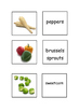 EAL / ESL Game Vegetables Vocabulary -   matching activity