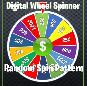 Game Wheel Spinner