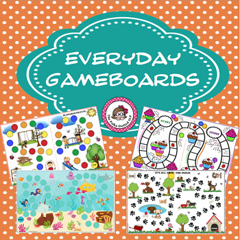 Everyday Game Boards Set #1