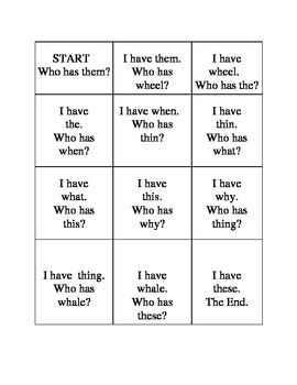 Game for Digraphs wh and th