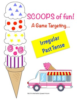 Game for Irregular Past Tense Speech Therapy