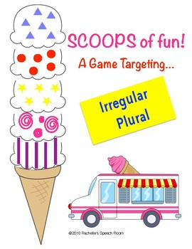 Game for Irregular Plural Speech Therapy