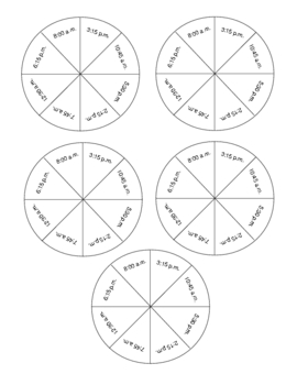 Game for Practicing Elapsed Time