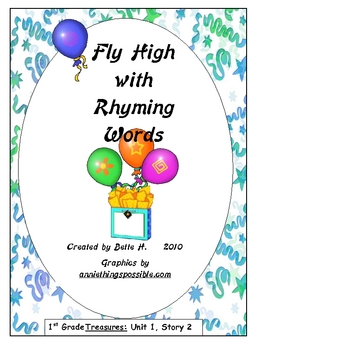 """Game for Treasures Reading Stories Unit 1, Story 2""""Flying High"""""""