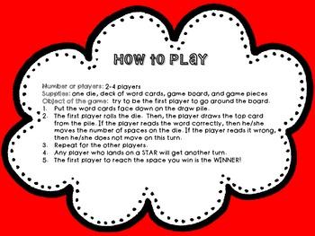 Game for Vowel Dipthong practice