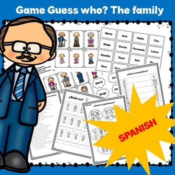Game guess who? the Family