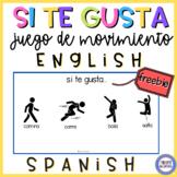 Game in Spanish - Si te gusta