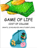 Game of Life - Cost of College