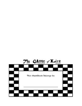 Game of Life Game - Checkbook Cover