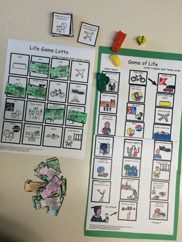 Game of Life plus Life Game Lotto
