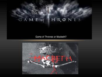 Game of Thrones or Macbeth Quiz!