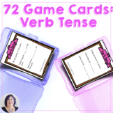 Verb Tenses 72 Game Cards for Language  for Speech Therapy