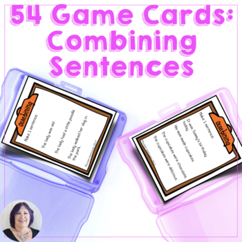 Game Cards for Language Combining Sentences for Speech Therapy