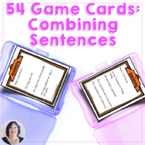 Combining Sentences 54 Game Cards for Speech Language Therapy