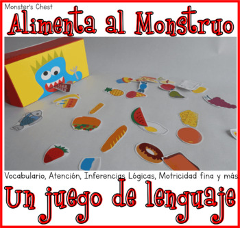 Game, the monster wants to eat. IN SPANISH