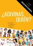 Game to practice descriptions in Spanish: ¿ADIVINAS QUIÉN?