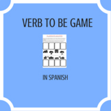 Game to practice verb to be in Spanish.